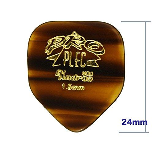 D'Andrea PRO-330 Shape ギターピック 8枚セット 【徹底紹介】ホームベース型のピック特集!弾きやすくて安くてオススメ!【価格・口コミ・評価・レビュー】