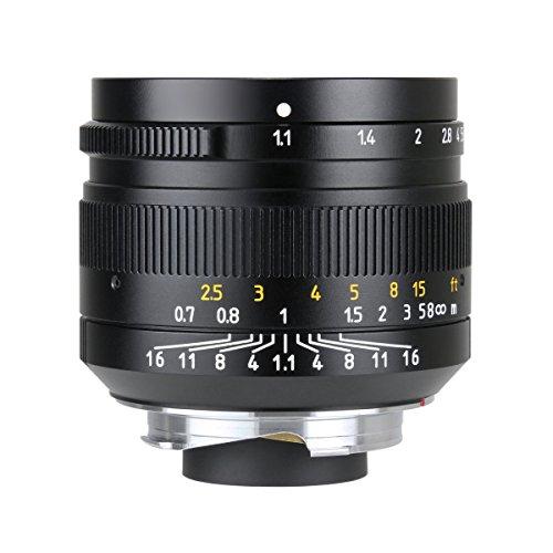 七工匠 7artisans 単焦点レンズ 50mm F1.1 国内正規品 (ライカMマウント) (ブラック)
