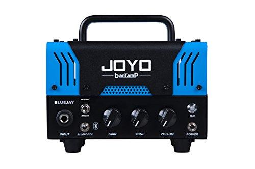 【国内正規品】JOYO ジョーヨー banTamP BLUEJAY(ブルー)20W 2チャンネル チューブアンプヘッド 【440g~】超小型アンプ特集!小さく持ち運びも楽で良い音のする安い小型ヘッドアンプ!