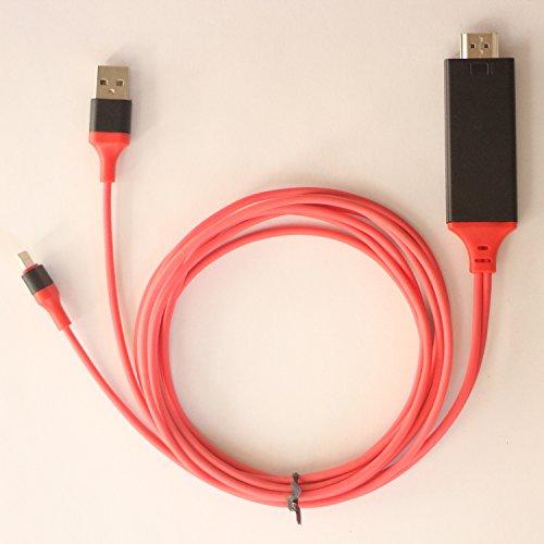 iPhoneiPadに対応するライトニングHDMI変換ケーブル MHLケーブル アダプタ 高解像度1080P 2メートル 新品