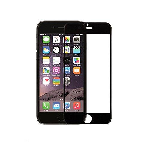 iphone 6 6s 強化ガラスフィルム 全面フルカバー 液晶保護 3Dラウンドエッジ加工 気泡ゼロ 耐衝撃 飛散防止 指紋防止加工 0.33mm 硬度9Hiphone6/6sブラック