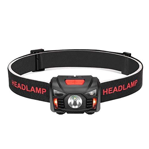 【充電式ヘッドライト】 LEDヘッドランプ 小型軽量 最高照度防水 登山/キャンプ/サイクリング/ハイキング/...