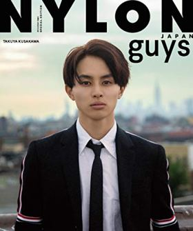 NYLON guys JAPAN TAKUYA STYLE BOOK (NYLON JAPAN 2019年1月号増刊)