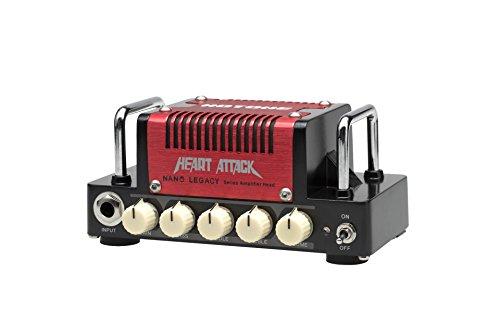 HOTONE 「HEART ATTACK」世界最小ハイゲイン・サウンド・アンプ・ヘッド[国内正規品] 【440g~】超小型アンプ特集!小さく持ち運びも楽で良い音のする安い小型ヘッドアンプ!