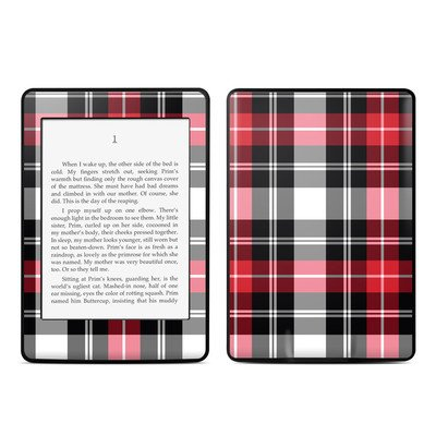 Amazon Kindle Paperwhite スキンシール【Red Plaid】