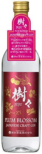 濱田酒造 ジャパニーズクラフトジン 樹々(JUJU) PLUM BLOSSOM 40度 [ ジン 700ml ]