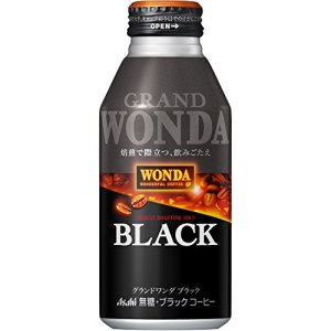 アサヒ飲料 ワンダ グランドワンダブラック ボトル缶 400g×24本