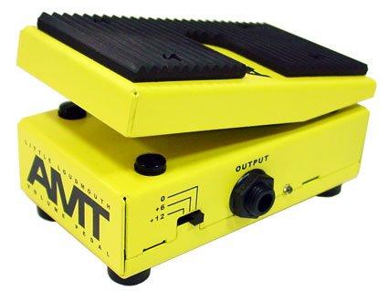 AMT Electronics [エイエムティーエレクトロニクス] LLM-2 Little Loudmouth 【最新小型ボリュームペダル特集】安くて小さいエフェクターボードに邪魔にならないコンパクトなミニサイズのオススメヴォリュームペダル!大きいペダルとおさらば!