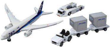 トミカ 787エアポートセット (ANA)