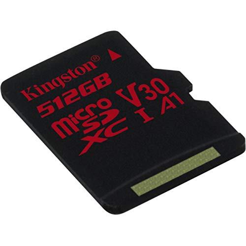 プロフェッショナル キングストン512GB MicroSDXC ソニー Xperia C5 ウルトラデュアル用 カスタム100MB/秒フォーマットSDアダプター付き (クラス10/UHS-I/U3/A3/V30)