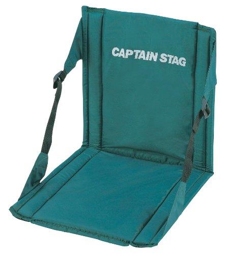 キャプテンスタッグ チェア CS FD チェア マット グリーン M-3335