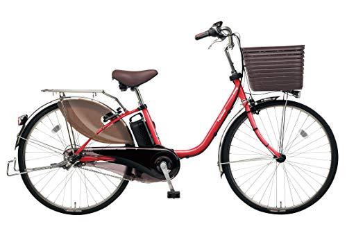 Panasonic(パナソニック) 2019年モデル ビビ・DX 26インチ カラー:レッドジンジャー BE-ELD635-R2 電動アシスト自転車 専用充電器付