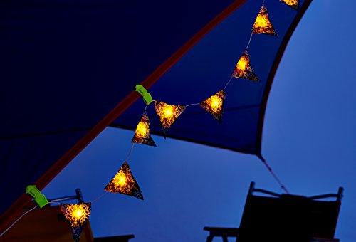 コールマン ライト ガーランドストリングライト フォリッジ/ブルー 2000022287