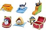 ねこあつめ つくえのうえでねこあつめ5 猫 ネコ ゲーム キャラ フィギュア グッズ ガチャ バンダイ(全6種フルコンプセット)
