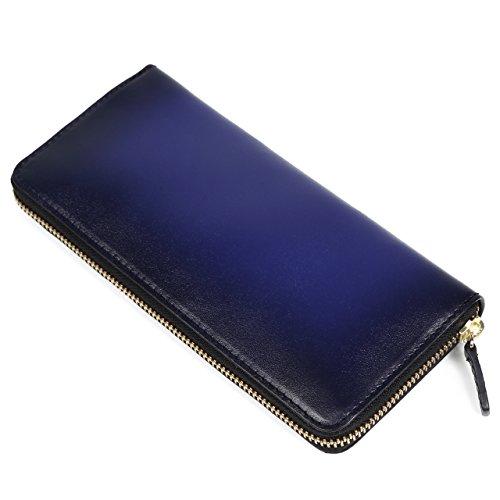 一流の革職人が作る スフマート製法で染色した(ラファエロ) Raffaello の財布