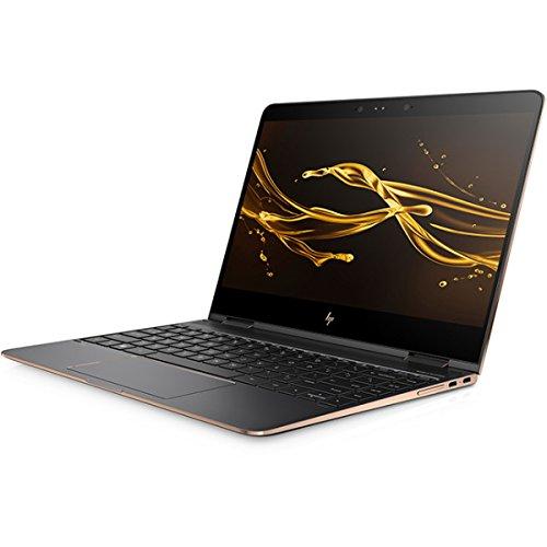 HP Spectre x360 13-ac000 ベーシックモデル Windows10 Home 64bit 第7世代 Core i5-7200U 8GB SSD 256GB 光学ドライブ非搭載 高速無線LAN IEEE802.11ac/a/b/g/n Bluetooth webカメラ Bang & Olufsenクアッドスピーカー 13.3型フルHDタッチパネル液晶ノートパソコン (アッシュブラック) (Office なし) (Office なし)