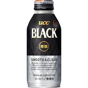 UCC BLACK無糖 SMOOTH&CLEAR リキャップ缶375g×24本