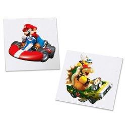 Mario Kart Wii Tattoos マリオ カート ウイー タトゥー シール [並行輸入品]