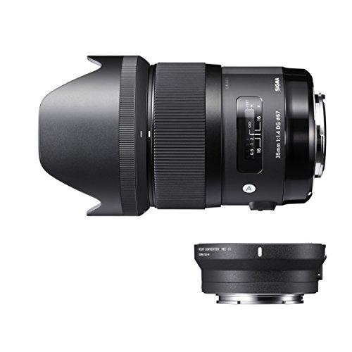 SIGMA Art 35mm F1.4 DG HSM キヤノン用 & マウントコンバーター MC-11 EF-E用 レンズキット