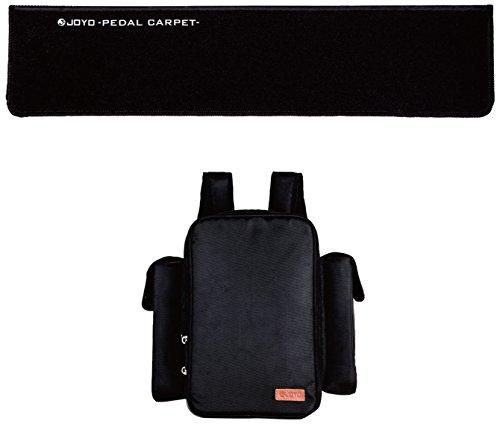 JOYO ソフトペダルバッグ & ペダルカーペットセット PC-1 持ち運びが楽なエフェクターバッグを選ぼう! オススメTOP10!