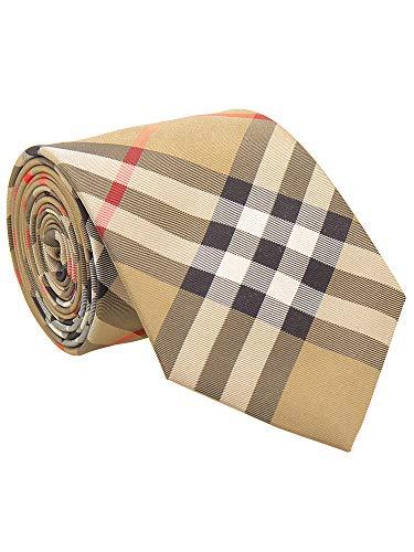 バーバリーのネクタイを父にプレゼント