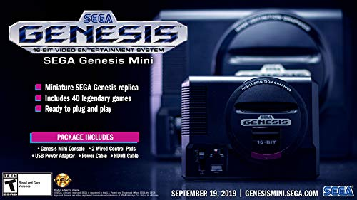 Sega Genesis Mini - Genesis by SEGA from America.
