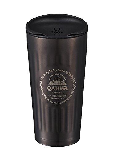 シービージャパン タンブラー 蓋付き ステンレス カフア コーヒー タンブラー ブラウン QAHWA
