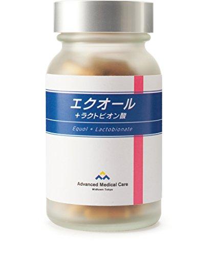 エクオール+ラクトビオン酸 (90カプセル入 1日3カプセル目安/30日分)