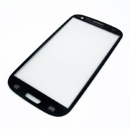 Galaxy S3 SIII i9300 フロントガラス 保護用ガラス 修理用部品 パーツ ブルー