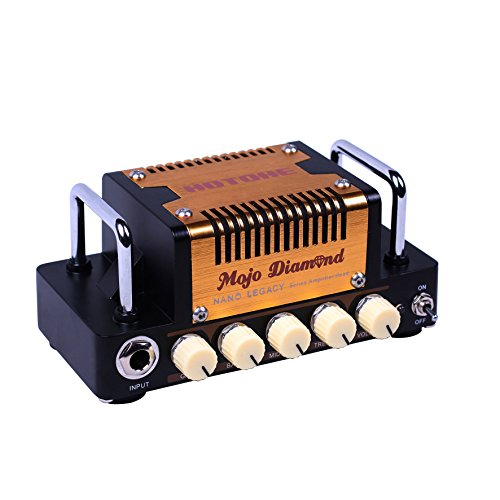 HOTONE 「Mojo Diamond」世界最小ビンテージ・ツイード・サウンド・アンプ・ヘッド[国内正規品] 【440g~】超小型アンプ特集!小さく持ち運びも楽で良い音のする安い小型ヘッドアンプ!
