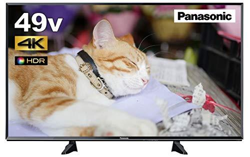 パナソニック 49V型 4K対応 液晶 テレビ VIERA 裏番組録画対応 TH-49EX600 HDR対応