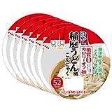 ヨコオ 糖質0カロリーオフ麺カップ 冷やし稲庭うどん風こんにゃく ×6入り