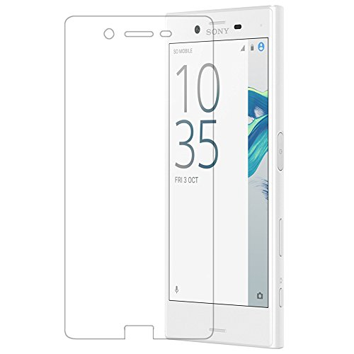 AMOVO Sony Xperia X Compact フィルム エクスペリアX コンパクト 液晶保護フィルム SO-02J ガラスフィルム 硬度9H 99%高透過率 Xperia X Compact 1枚入り