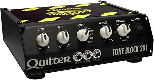 Quilter ( クイルター ) 200W 次世代ソリッドステートアンプ Tone Block 201 TB201-HEAD 【440g~】超小型アンプ特集!小さく持ち運びも楽で良い音のする安い小型ヘッドアンプ!