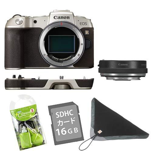 【クリーナー・SD・カメララップ付】キヤノン ミラーレスカメラ EOS RP(ゴールド) マウントアダプターSPキット EOSRPGL-BODYMADK ※レンズはつきません (3381C003)(キャノン/Canon)