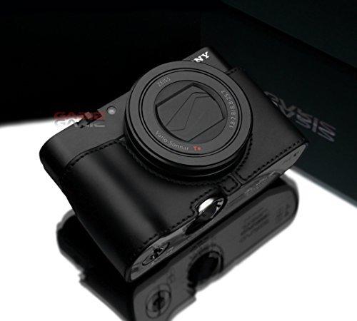 Sony RX100M3 / RX100M4 レザーカメラハーフケース GARIZ/ゲリズ 本革カメラケース AG-R2グリップ装着の方のみ 並行輸入品