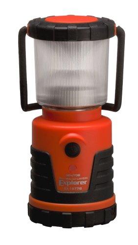 GENTOS(ジェントス) LED ランタン 【明るさ100ルーメン/連続点灯12時間/防滴】 エクスプローラー EX-1977IS ANSI規格準拠 停電時用 明かり 防災