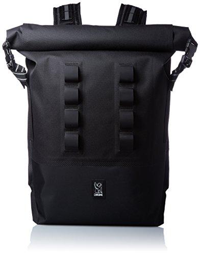 [クローム]リュックサック/バックパック URBAN EX ROLLTOP28 A4収納 PC収納 防水 撥水 BLACK/BLACK