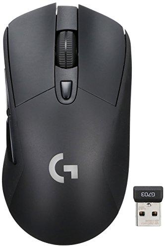 ワイヤレス ゲーミングマウス ロジクール G703 エルゴノミクスデザイン ワイヤレス充電対応 LIGHTSPEED
