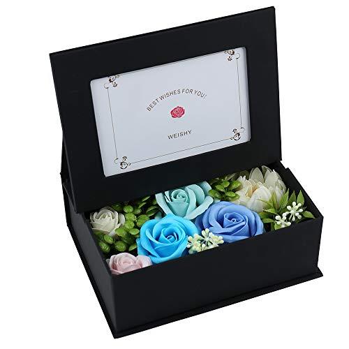 ソープフラワーの写真たてを新婚祝いにプレゼント