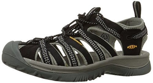 [キーン] KEEN Whisper Whisper 1008448 (Black/Neutral Gray/24)