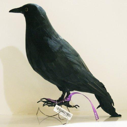 プエブコ PUEBCO バードオフジェ ARTIFICIAL BIRDS カラス Crow Lサイズ 104072