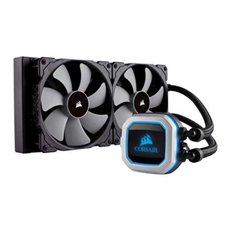 Corsair H115i PRO RGB 水冷CPUクーラー [Intel/AMD両対応] FN1150 CW-9060032-WW