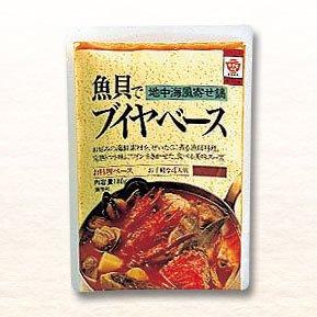【3個セット】 ますやみそ 魚貝でブイヤベース(地中海風寄せ鍋)の素(4人前)180g