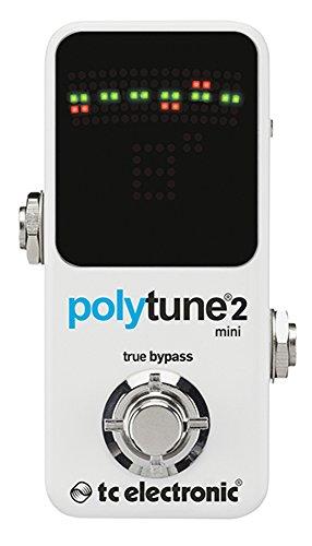 tc electronic ポリフォニック チューナー POLYTUNE 2 一番売れた人気エフェクターランキング!オーバードライブ、ファズ歪み系、ディレイ、リバーブ、コーラス、コンプレッサーの人気ペダル一覧【2018年】