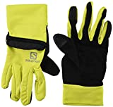 [サロモン] FAST WING WINTER GLOVE U L40428300 Sulphur Spring/Black 日本 S (日本サイズS相当)