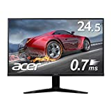 Acer ゲーミングモニター KG251QGbmiix 24.5インチ 0.7ms 75hz TN FPS向き フルHD 非光沢 フレームレス