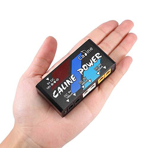 Caline パワーサプライ ギターエフェクト エフェクター電源 超小型 軽量 独立動作 エフェクトペダル用 6チャネル 短絡保護 過熱保護 PSE認証 (ミニ型 6チャネル)