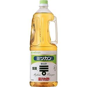 ミツカン 穀物酢 銘撰 ペットボトル 1.8L
