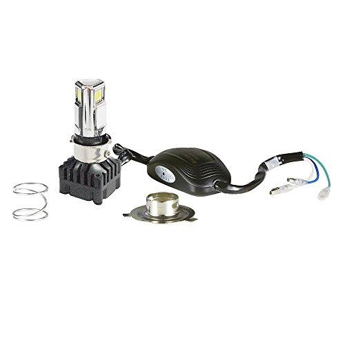 RAYD(レイド) LEDヘッドライト 3面発光 H4/PH7/PH8対応 Hi/Lo切替式 30W/20W 最新モデル交流取付可能